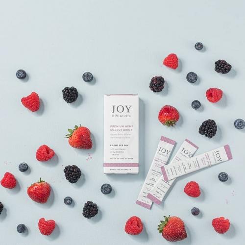 Joy Organics CBD Energy Drink Mix (Pack of 5)