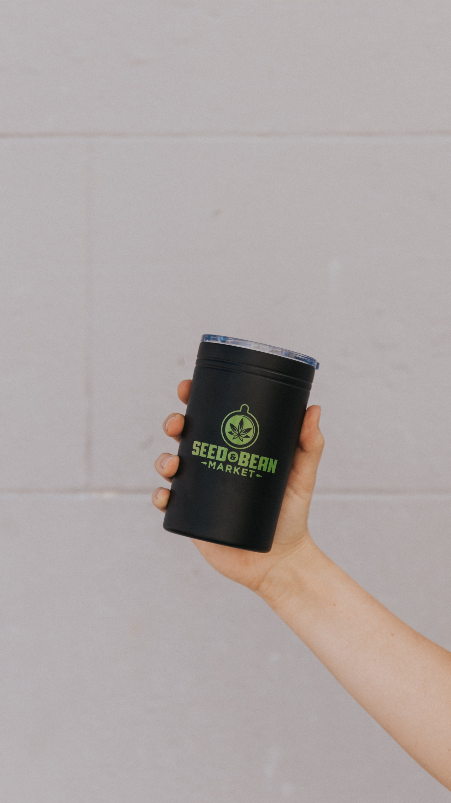 Aluminum Mini Tumbler Black
