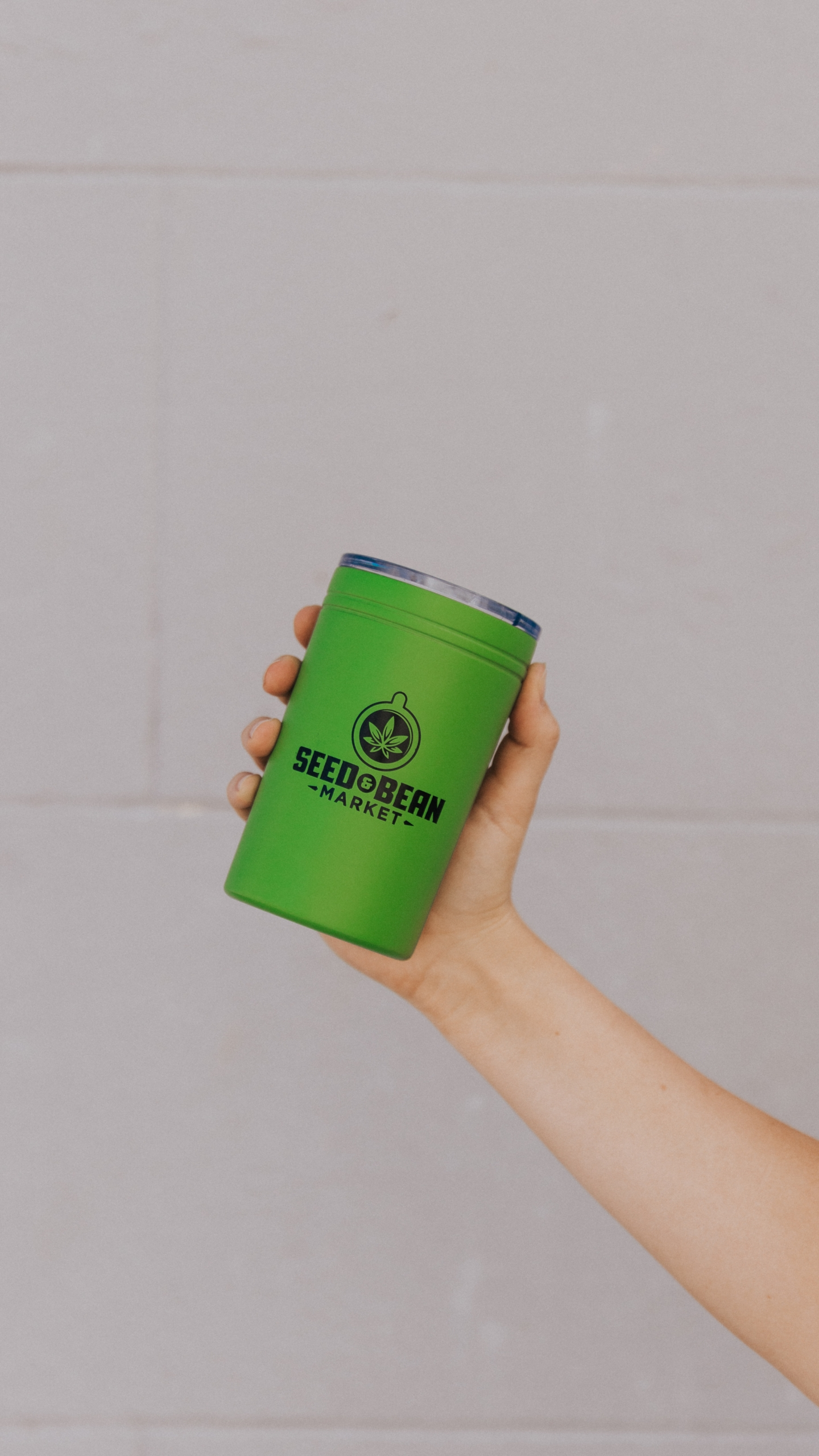 Aluminum Mini Tumbler Green