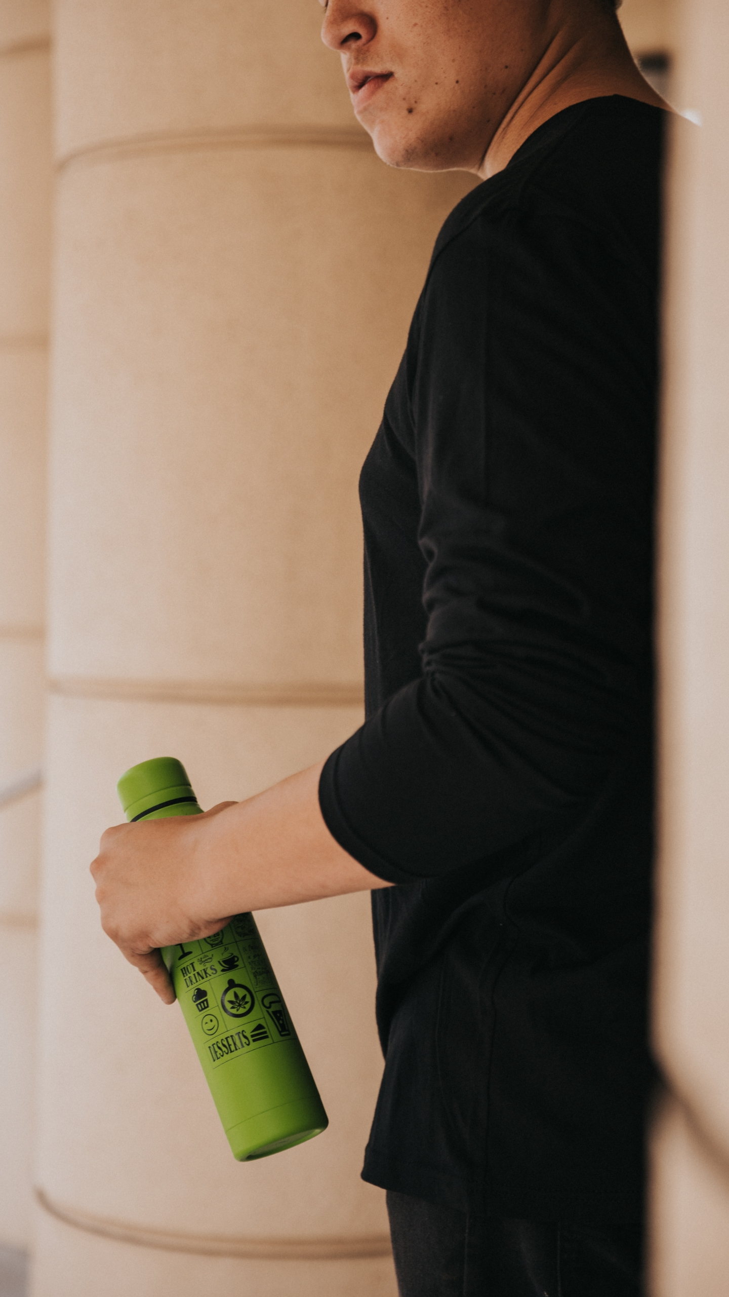 Green Thermal Bottle