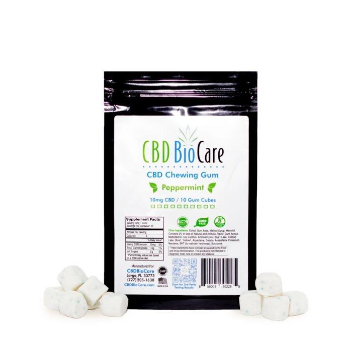 CBD BioCare Gum 10mg 10ct