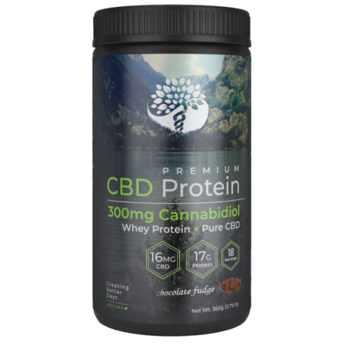 Creating Better Days CBD Whey Protein Vanilla