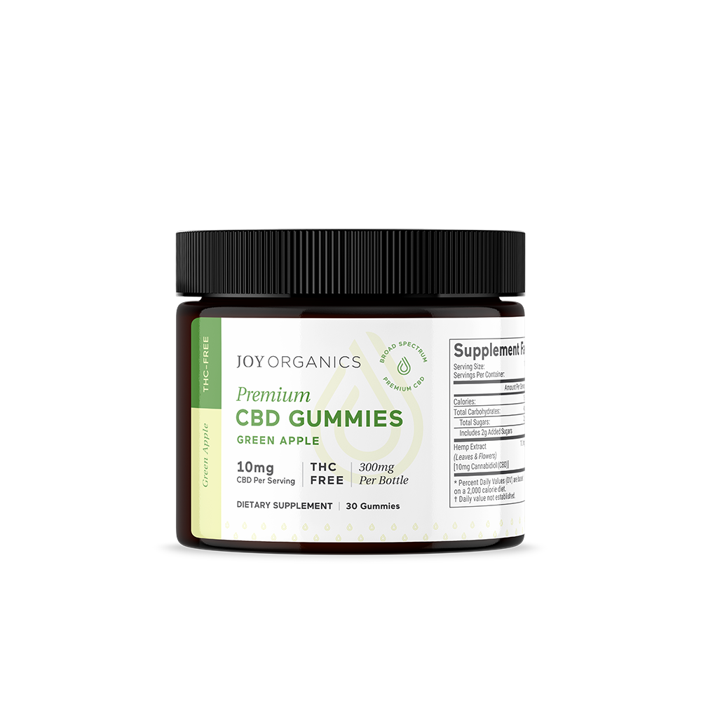 Joys CBD Gummies 10MG Green Apple