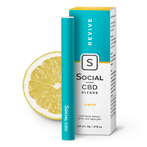 Social CBD Pen Lemon