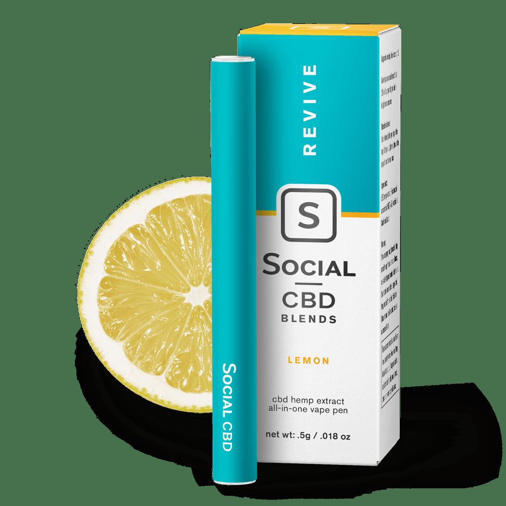 Social CBD Pen Lemon