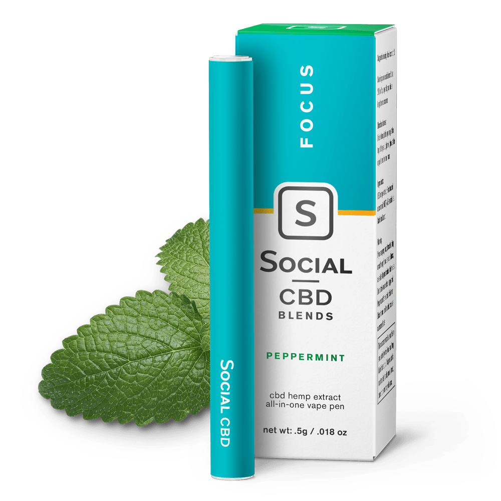 Social CBD Pen Peppermint