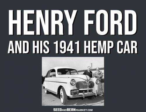 Henry Ford and His 1941 Hemp Car
