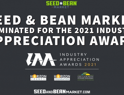Seed & Bean Market Nominated for the 2021 Industry Appreciation Award and Represents the Florida Cannabis Industry