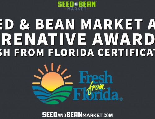 Seed & Bean Market and PureNative Awarded Fresh from Florida Certification