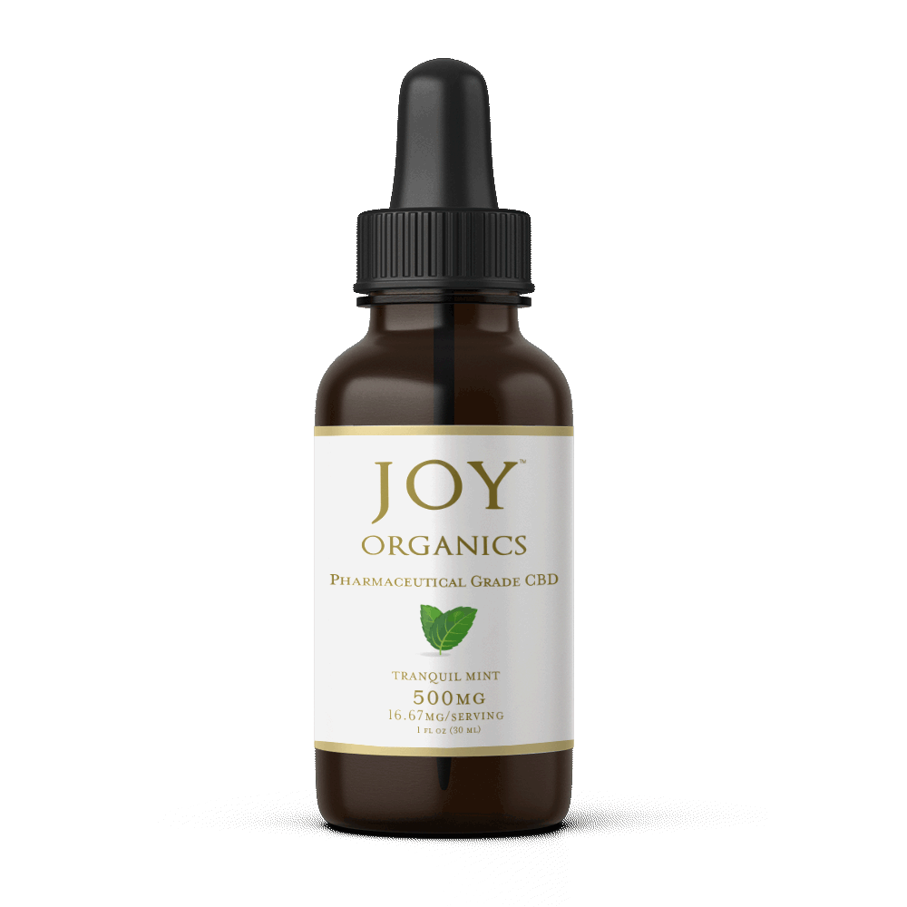 JOY ORGANICS TINCTURE TRANQUIL MINT - 500MG