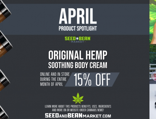 April Product Spotlight: Original Hemp Soothing Cream
