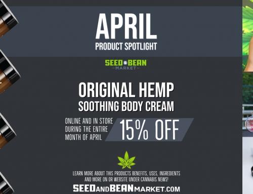 April Product Spotlight: Original Hemp Soothing Cream