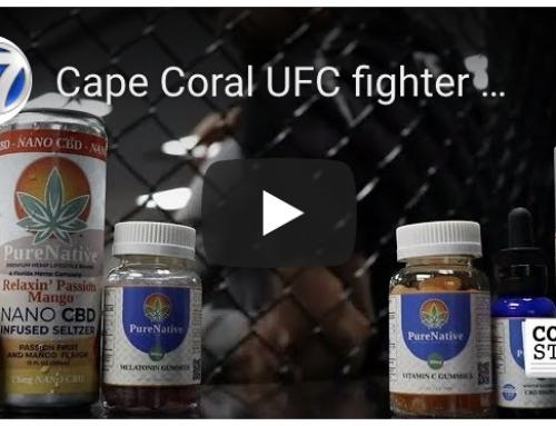 Cape Coral UFC fighter partners with local hemp & CBD company